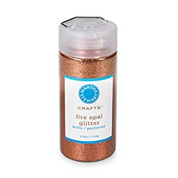Martha Stewart Crafts Glitter, Fire Opal, 4.58 Ounces