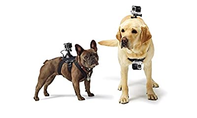 Dog Body Mount Pet Camera Harness Chest Back Strap Accessories for Gopro 4 3 3 2 1