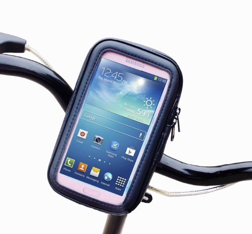 Baakyeek Bicycle Motorcycle Waterproof Cell Phone Case Holder For Samsung Galaxy S4 I9500