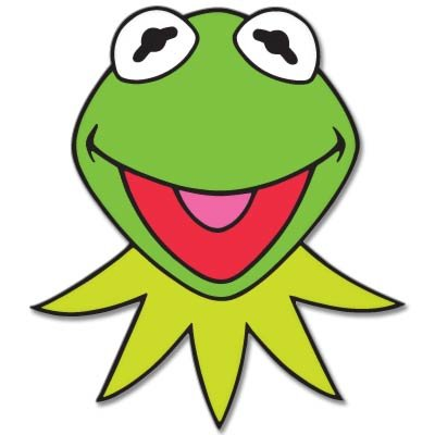 KERMIT Muppets Jim Henson Vynil Car Sticker Decal - Select Size