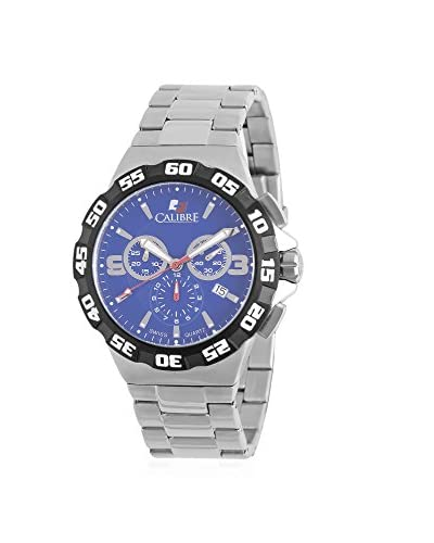 Calibre Men's SC-5L2-04-003 Lancer Analog Display Quartz Silver Watch