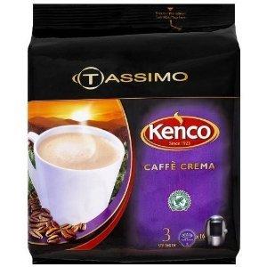 Tassimo Kenco Café Crema Coffee (16 T-Disc) by Tassimo