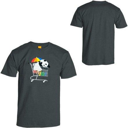Enjoi Best Sellers T-Shirt - Short-Sleeve - Men's Turquoise, S