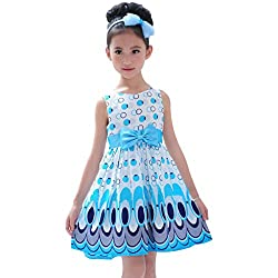 cartyshop Party wear Frock For Girls