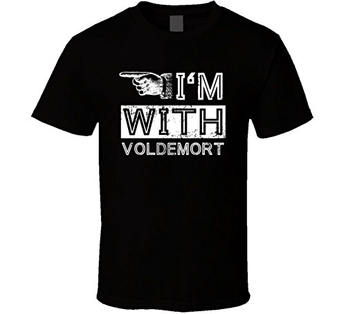 Im with Voldemort Stupid Cool Couple Costume Halloween T Shirt