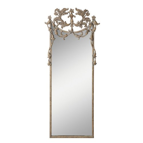 Kichler Lighting 78141 Broussard 73-Inch Mirror, Antique Washed Charcoal Frame With Antique Gold Highlights front-991523