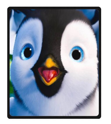 "Funny Christmas Penguins Fleece Blankets 50"" X 60"" (Medium)"
