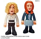 DOCTOR WHO CHARACTER BUILDING RIVER SONG & AMY POND LOOSE FIGURES