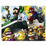Nintendo Ds Mario Kart Luigi 100 Pc Puzzle 1 3D Collectors Card Jigsaw