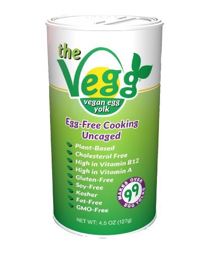The Vegg – Vegan Egg Yolk Canister – 4.5 Oz (Makes Over 99 Egg Yolks!)