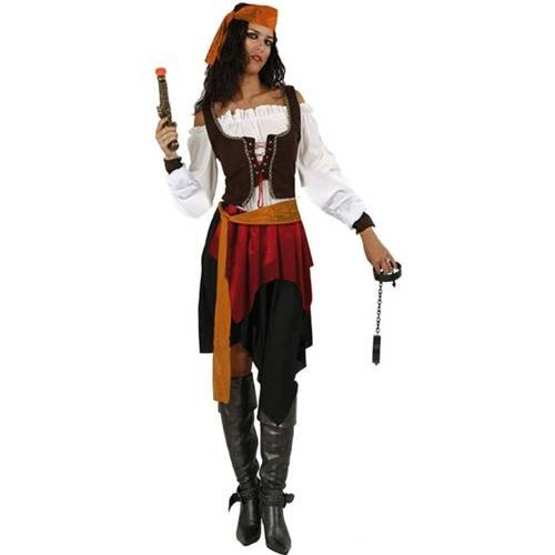 Pirate costume for women<br />