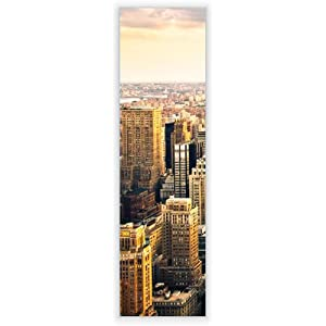 motivscheibe f r ikea wandleuchte gyllen im hochformat mit motiv new york city. Black Bedroom Furniture Sets. Home Design Ideas