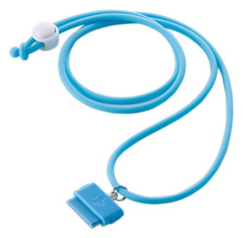 Simplism iPhone 用 ネック ストラップ Dockコネクター ワンタッチ接続 DockStrap Neo ブルー TR-DSIN-BL