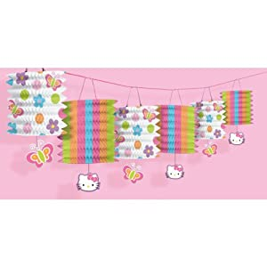 Amscan Hello Kitty 12' Paper Lantern Garland