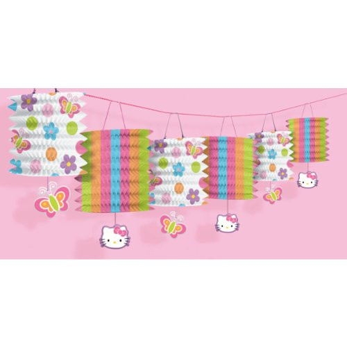 Amscan-Hello-Kitty-12-Paper-Lantern-Garland