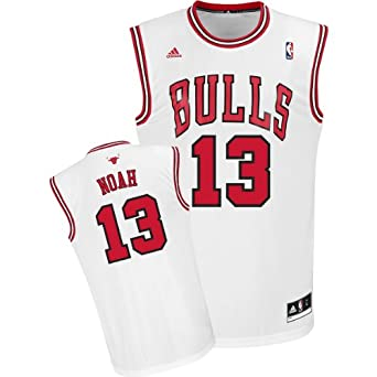 adidas Chicago Bulls Joakim Noah New Revolution 30 Replica Home Jersey by adidas