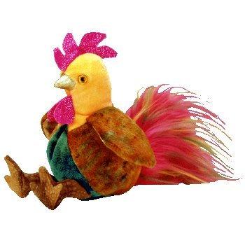 Zodiac Rooster - Ty Beanie Babies - 1