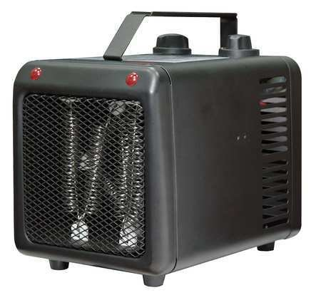 1500/1000W Electric Space Heater, Fan Forced, 120V (Garage Heater 120 compare prices)