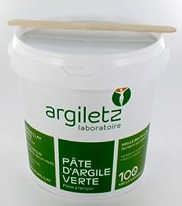 ARGILETZ Argile Verte en pot - 1, 5kg