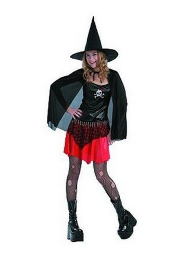 Punk Witch Dress Up Halloween Costume - Size Teen Junior One Size Fits Most