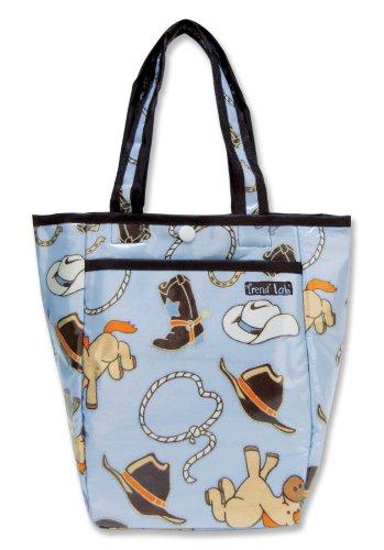 Trend Lab 104372 - Cowboy Tote Diaper Bag image