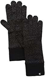 Isotoner Women's Allover Smartouch Knit Glove