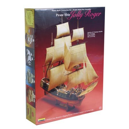 Buy Lindberg Jolly Roger Pirate Ship – 70874