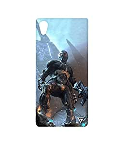 Vogueshell Call Of Duty Printed Symmetry PRO Series Hard Back Case for Sony Xperia M4 Aqua