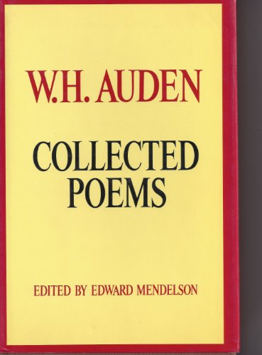 wh auden selected essays Yeats, auden, and brodsky admirers of the poetry of joseph brodsky might also be acquainted with his long essay on september 1, 1939 by w h auden, a revised version of one of his.