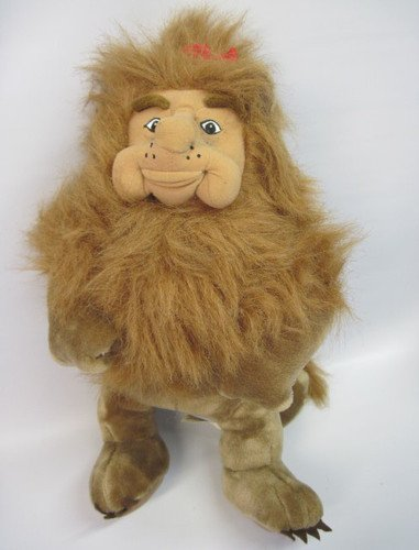 "The Wizard of Oz COWARDLY LION Large Plush (16"") - 1"