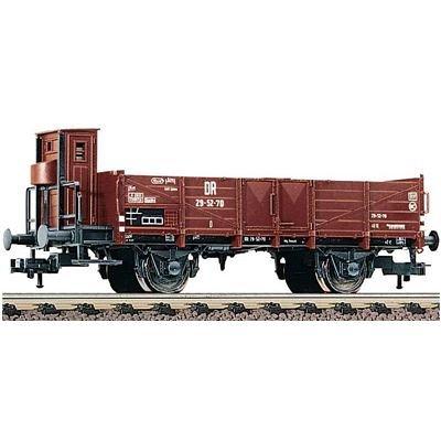 Fleischmann 5709 - Offener Güterwagen Bauart O mit Bremserhaus - DR