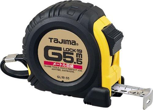 タジマ Gロック-19 5.5m 19mm幅 メートル目盛 GL19-55BL