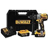 DEWALT 20V MAX XR Hammer Drill Kit, Brushless, 3-Speed (DCD996P2) (Drill Kit)