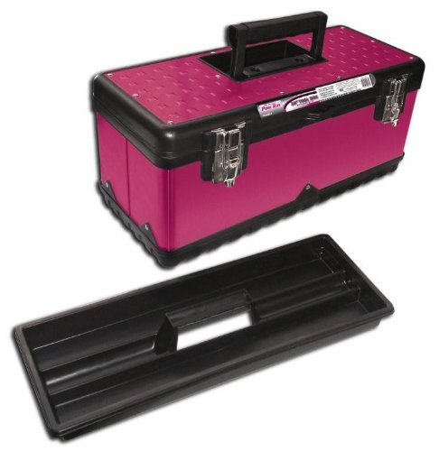 Images for The Original Pink Box PB20MTB 20-Inch Steel Tool Box, Pink