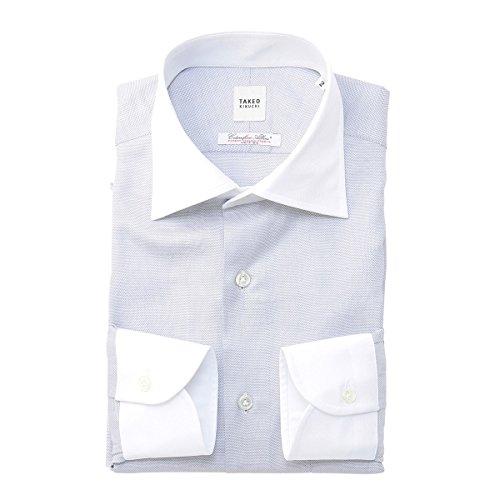 タケオキクチ(TAKEO KIKUCHI) シャツ(アルビニマイクロドットヘリンボンシャツ)【013ダークグレー/L】