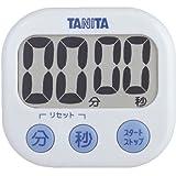 TANITA デジタルタイマー でか見えタイマー ホワイト TD-384-WH