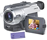 Photography - Sony CCDTRV308 Hi8 Camcorder with 2.5LCD and Video Light