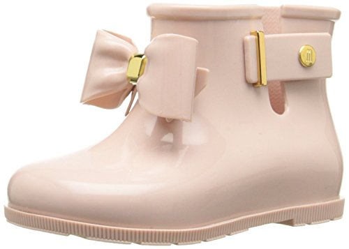 Mini Melissa Girls' Sugar Rain Bow Mary Jane, Light Pink, 10 M US Toddler (Rain Boots Melissa compare prices)