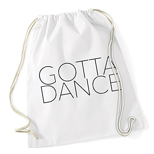Gotta Dance Borsa De Gym Bianco Certified Freak