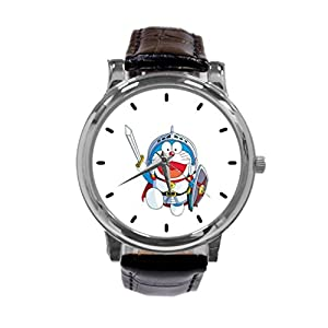 [ZhuYou] Custom Doraemon Japanese Manga Series Fashion Design Personalized Men Women Wrist Watch Leather Band Men's Sport Watch hot!
