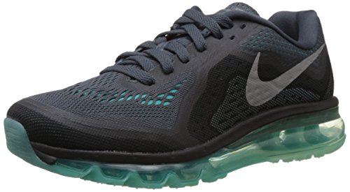 Nike Women's Air Max 2014 Dark Magnet Grey,Reflect Silver,Hyper Crimson  Running Shoes - 4 UK/India (37.5 EU)(6.5 US)  available at amazon for Rs.10496