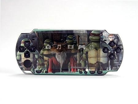 Ninja Turtle PSP (Slim) Dual Colored Skin Sticker, PSP 2000