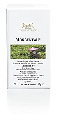 Ronnefeldt - Morgentau ® - White Line 100g, loser Tee - 1 Dose von J.T. Ronnefeldt KG - Gewürze Shop