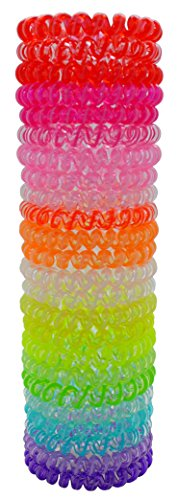 Cypress Lane Elastic Hair Ties 24 Pieces in a Lovely Gift Box (Jelly) (Hair Ties Telephone compare prices)
