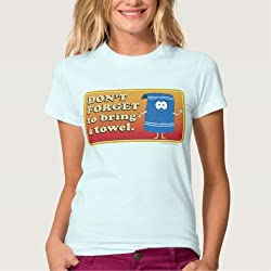 "South Park: Towelie ""Don't Forget to Bring a Towel"" Tee - Ladies"