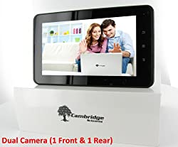 16GB Cambridge Sciences StarPAD 7 + 3G: Android Tablet PC, Dual Camera, Built-in 3G, 1GB RAM, 7