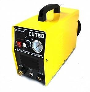Inverter Air Plasma Cutter Welder & Digital Display&pressure Gauge by Amonstar