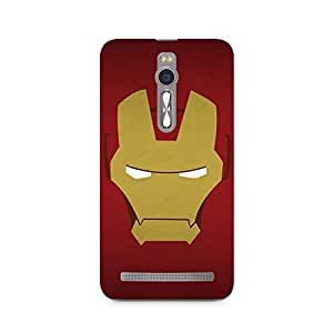 Ebby Iron Man Minimalist Premium Printed Case For Asus Zenfone 2