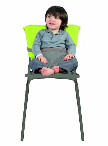 Reversible Baby Chair (Taupe/ Lime)