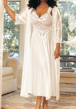 Buy Plus Size Bridal Robe